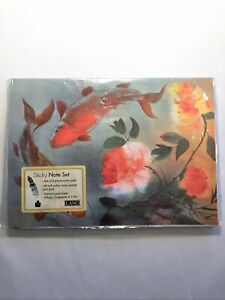 Lang 2010 Peaceful Garden 8 Piece Sticky Note Set New In Package