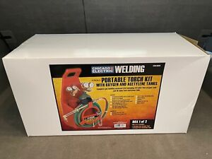 Chicago Electric Portable Welding Torch Kit Without Tanks