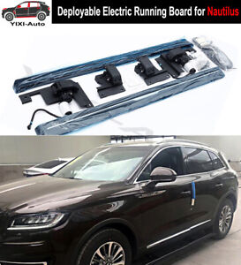 Deployable Electric Running Board Side Steps Fit For Lincoln Nautilus 2019 20 21