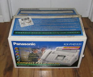 New Panasonic Kx fhd331 Compact Plain Paper Fax And Copier Telephone System