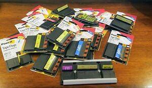 Big Lot Assorted Post it Flags Sign Here Rush Copy Fyi Fax Sticky Tabs And Flags