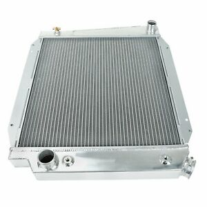 Aluminum Core Performance Cooling 3 Row Radiator For 1968 1977 Ford Bronco 5l V8
