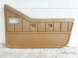 1987 1995 Jeep Wrangler Yj 1 2 Half Door Panel Passenger Right Plastic Spice Tan