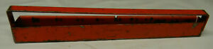 Vintage Snap On 9 Metal Socket Tray With Handle