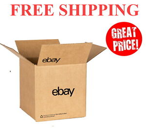 Ebay branded Boxes With Black Color Logo 10 X 10 X 10 Free Shipping Usa