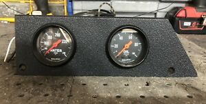 1979 86 Mustang Foxbody Auto Meter Z Series Water Oil With Two Gauge Pod