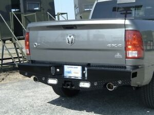 Ranch Hand Sbd09hblsle Sport Rear Bumper For Dodge Ram 1500 With Rear Exhaust