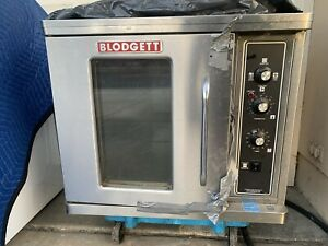 Blodgett Ctb Single Half Size Electric Convection Oven