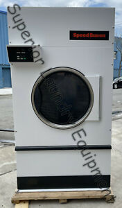 Speed Queen St120 Single Dryer 120lb 240v 3ph Electric Opl Reconditioned