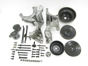 1991 92 Chevy Caprice 5 7l Serpentine Belt Bracket Pulley Set 88 92 Camaro Iroc