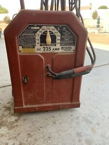 Lincoln Electric Ac 225 s Arc Welder High Desert California