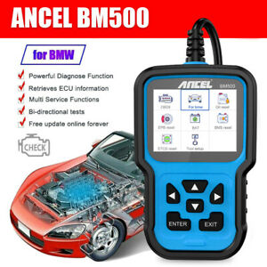 Full System Diagnostic Tool For Bmw Mini Rolls Royce Obd2 Scanner Abs Bms Srs At