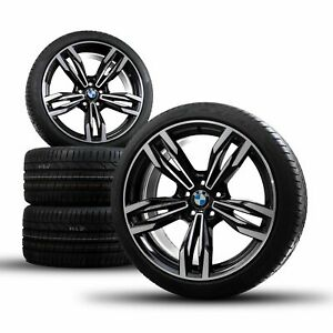 Bmw 20 Inch Rims M6 F06 F12 F13 Grand Coupe M433 Summer Tires Summer Wheels New