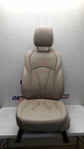 17 2017 Buick Lacrosse Driver Left Front Bucket Seat Tan Leather Power Memory