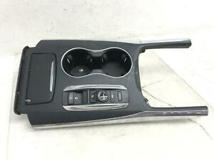 2014 2016 Acura Mdx Center Console Front Cup Holder Transmission Shifter Oem
