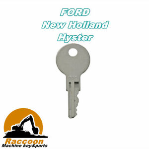 556 Key For Ford New Holland Gradall Hyster Lull Yale Forklift Ignition Keys