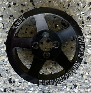 Whipple 6 Rib Supercharger Pulley chevy Ss Scp 6 ss