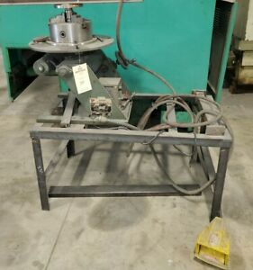 make Offer _ 300 Lb Ransome Welding Positioner Weld Bench Welder Position