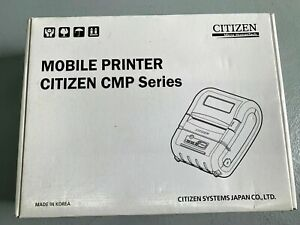Citizen Mobile Printer Cmp 30u new Open Box