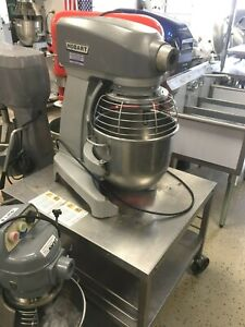 Mixer 20 Qt Commercial Planetary With Stand Mixer Hobart Model Legacy Hl 200 1