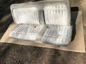 1988 94 Chevy Gmc Silverado 1500 Sierra Truck Bench Seat With Arm Rest Gray