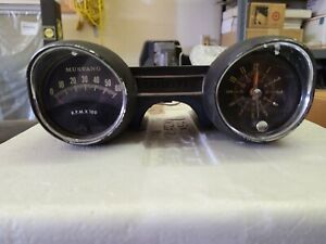 1965 Ford Mustang Rally Pac High Profile 6k Tach And Clock Free Shipping