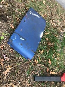 Used Oem 1959 1960 Triumph Tr3a Tr3b Trunk Panel Parting May Del To Mecum