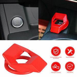 Universal Car Engine Start Stop Push Button Switch Decor Cover Accessories Trim