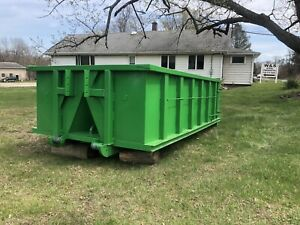 Roll Off Containers 12 Yard 36 Inch Hook And Cable Roll Off Dumpster