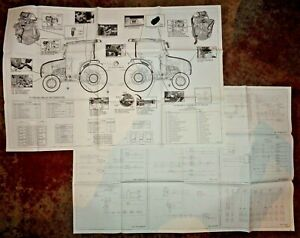 New Holland Boomer 46d 54d Cvt Tractor W cab Electrical Schematics charts Oem Nh