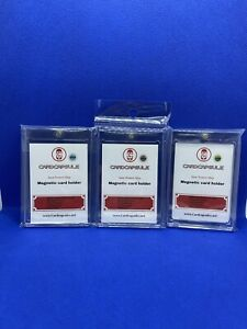 100pt One Touch Magnetic Card Holder 25 Count Box Of 25