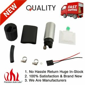 255lph Hp Fuel Pump Gss341 Install Kit For 90 93 Integra 88 91 Civic Crx New