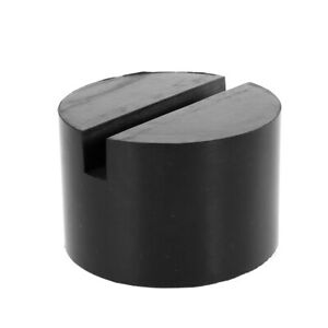 Universal Jack Pads Rubber Adapter Car Truck Cross Slotted Frame Rail Floor