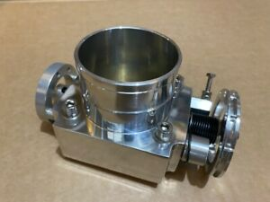 Universal 70mm High Flow Intake Aluminum Manifold Billet Throttle Body