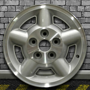 Machined Medium Sparkle Silver Oem Wheel For 1995 2004 Gmc Sonoma 4x4 15x7