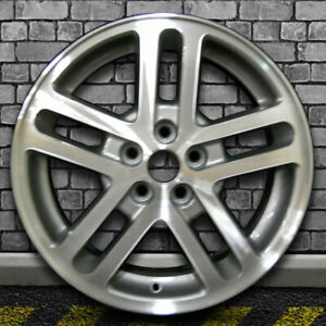 Machined Gray Charcoal Oem Factory Wheel For 2002 2005 Chevy Cavalier 16x6