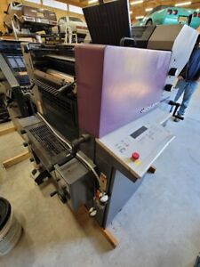 Heidelberg Print Master Qm46 2 Color Printing Press never Used Numbering Unit
