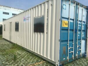 40ft Prefab 2br Container Home W full Bathroom More