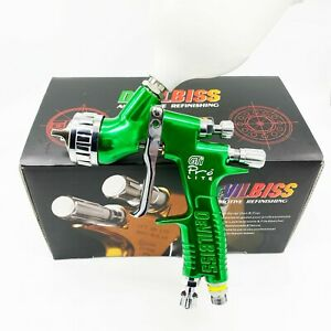 Devilbiss Spray Gun Gti Pro Lite Green 1 3mm Nozzle Lvmp Car Paint Tool Pistol