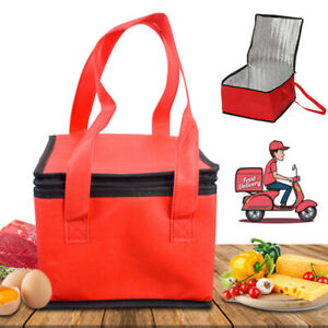 15 Pizza Delivery Bag Insulated Thermal Food Storage Holder Picnic Bag Us