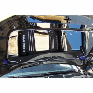 Lower Hood Cowl For 05 10 Chrysler Dodge Charger Magnum 300 Stainless Polished