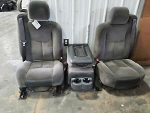 2003 2007 Sierra Silverado 1500 2500 3500 Front Seat Bucket And Bench Opt Ae7