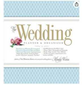 The Wedding Planner Organizer Hard Cover Ring bound Illustrated By Mindy Weiss