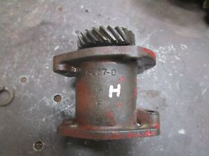 Ih Farmall H Sh Distributor Magneto Drive Assembly 6237 d Antique Tractor