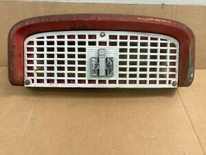 Farmall Ih 460 560 Front Upper Grill And Nose Cone With Ih Emblem