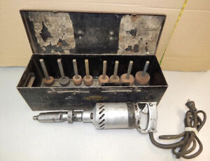 Kwik Way Valve Seat Grinder With Stones Tested And Guaranteed