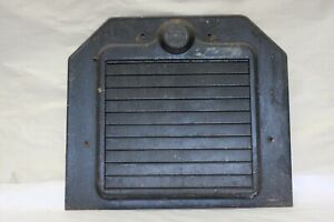 Original 1920 s Pines Winterfront Automatic Shutter Grill Radiator Cover Shroud