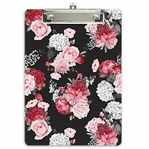 Hongri Plastic Clipboard Fashion Design A4 Letter Size Clipboards For Student