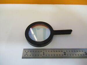 Zeiss Germany Heat Absorbing Lens Filter Microscope Part As Pictured w2 b 59