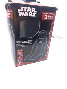 Star Wars Car Seat Cover Universal Fit Low Back Bucket Seats 1 Piece Disney